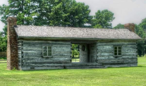 dogtrot cabin in log cabin history