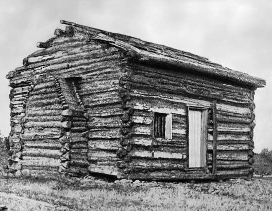 laura ingalls wilder and log cabins history