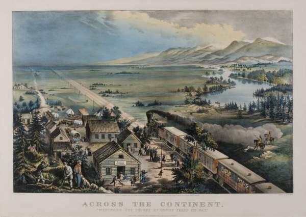 log cabin history and westward expansion