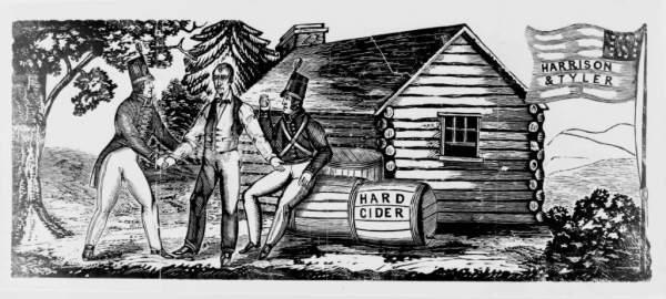 log cabin history becomes symbol