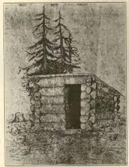 original cabin in log cabin history