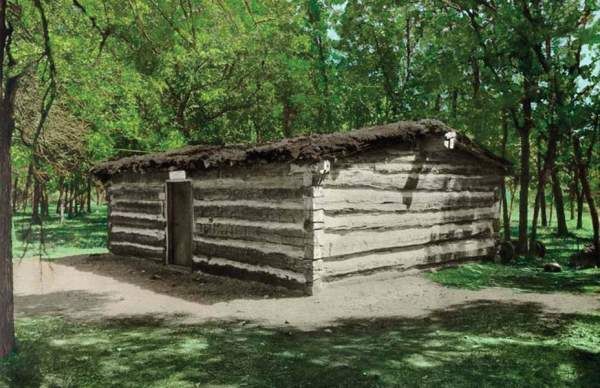 simple log cabin history