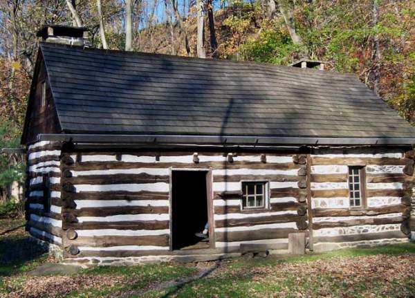 swedish founders in orinal log cabin history