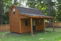 log cabin custom garage builders