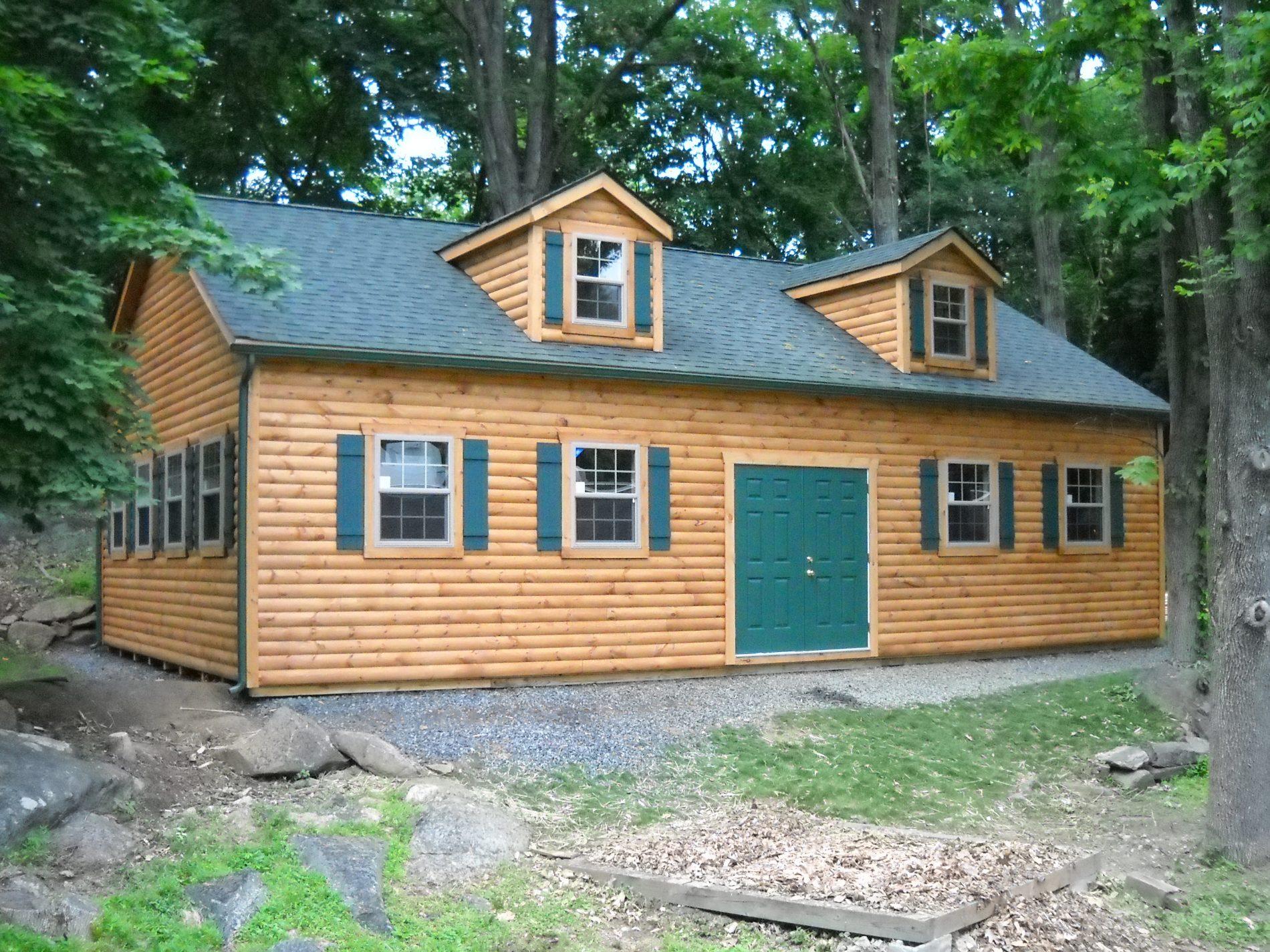 Custom garage builders prefab garages for sale zook cabins for Custom home garage