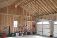 prefab garage interior