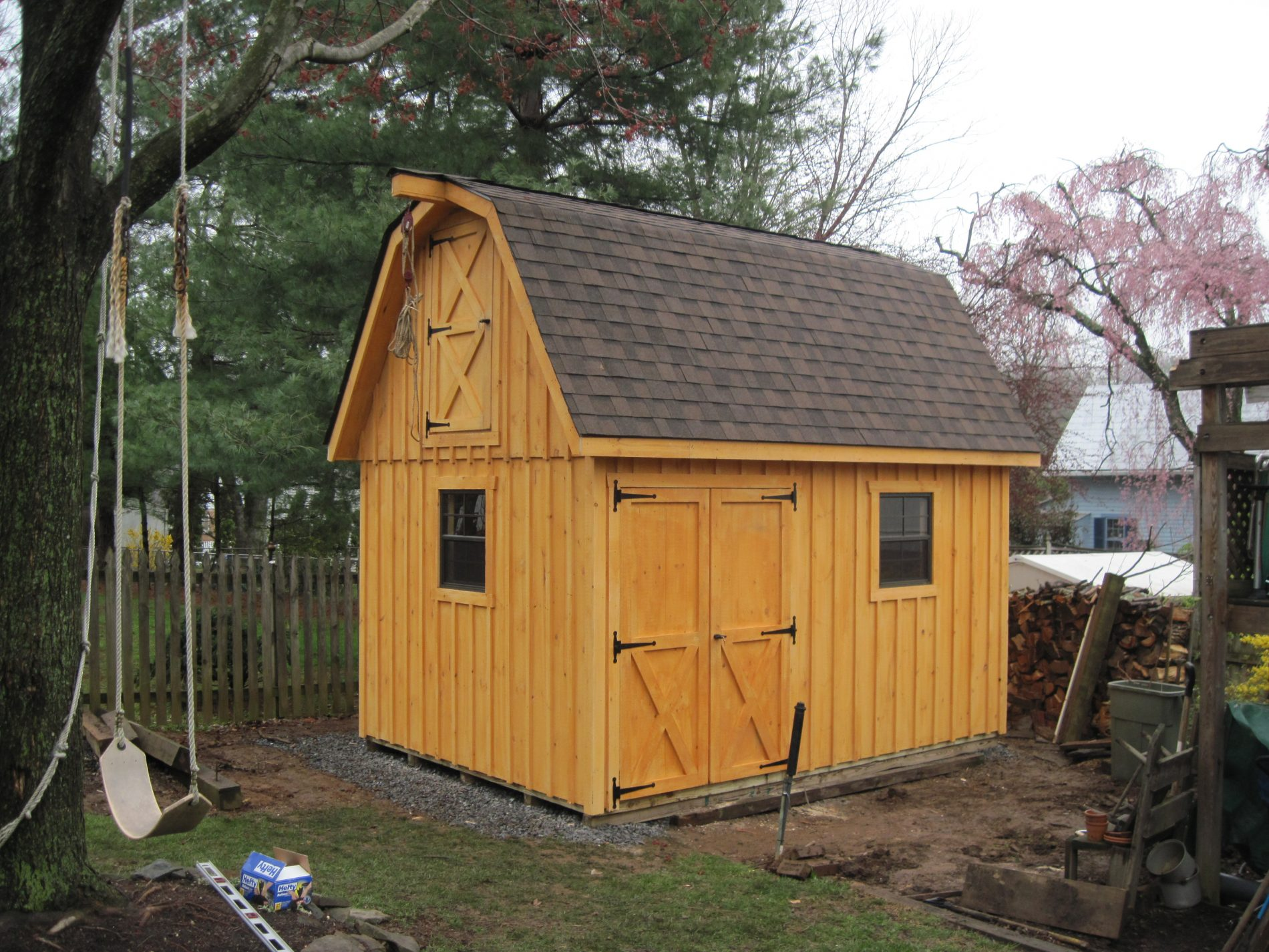 Custom garage builders prefab garages for sale zook cabins for Small garages for sale