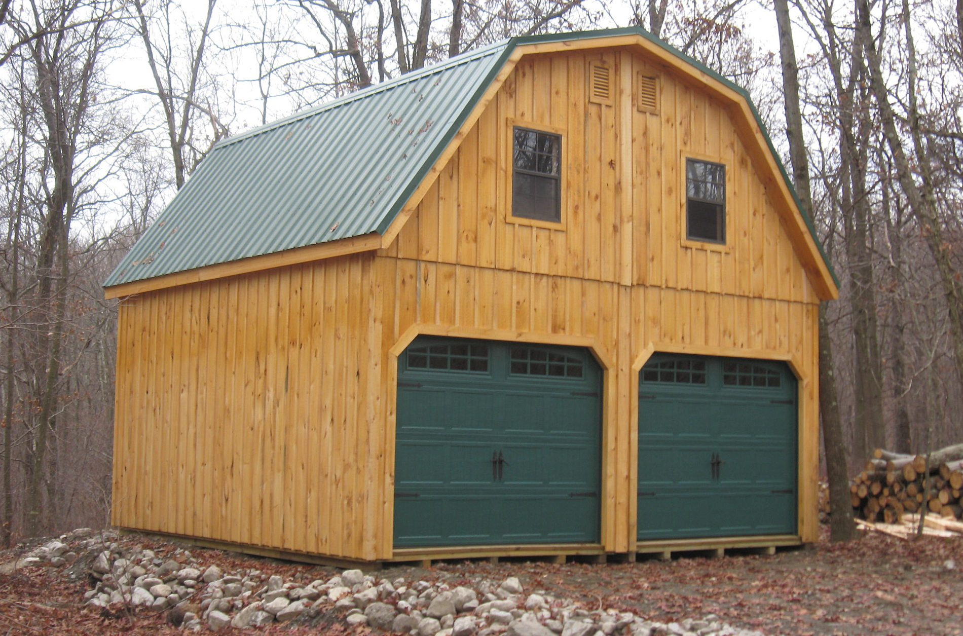 Superior Wood Siding Prefab Garages For Sale