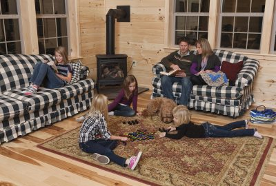 log cabin homes for new england states