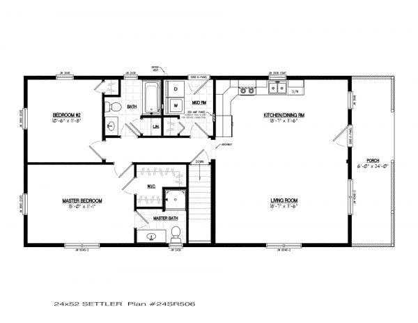 24sr506 settler modular cabin plans1