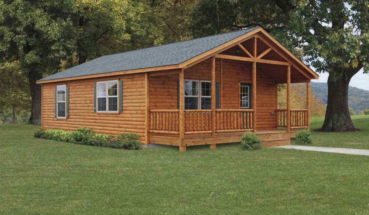 amish modular log homes