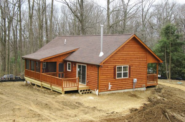 how to buy and plan log cabin