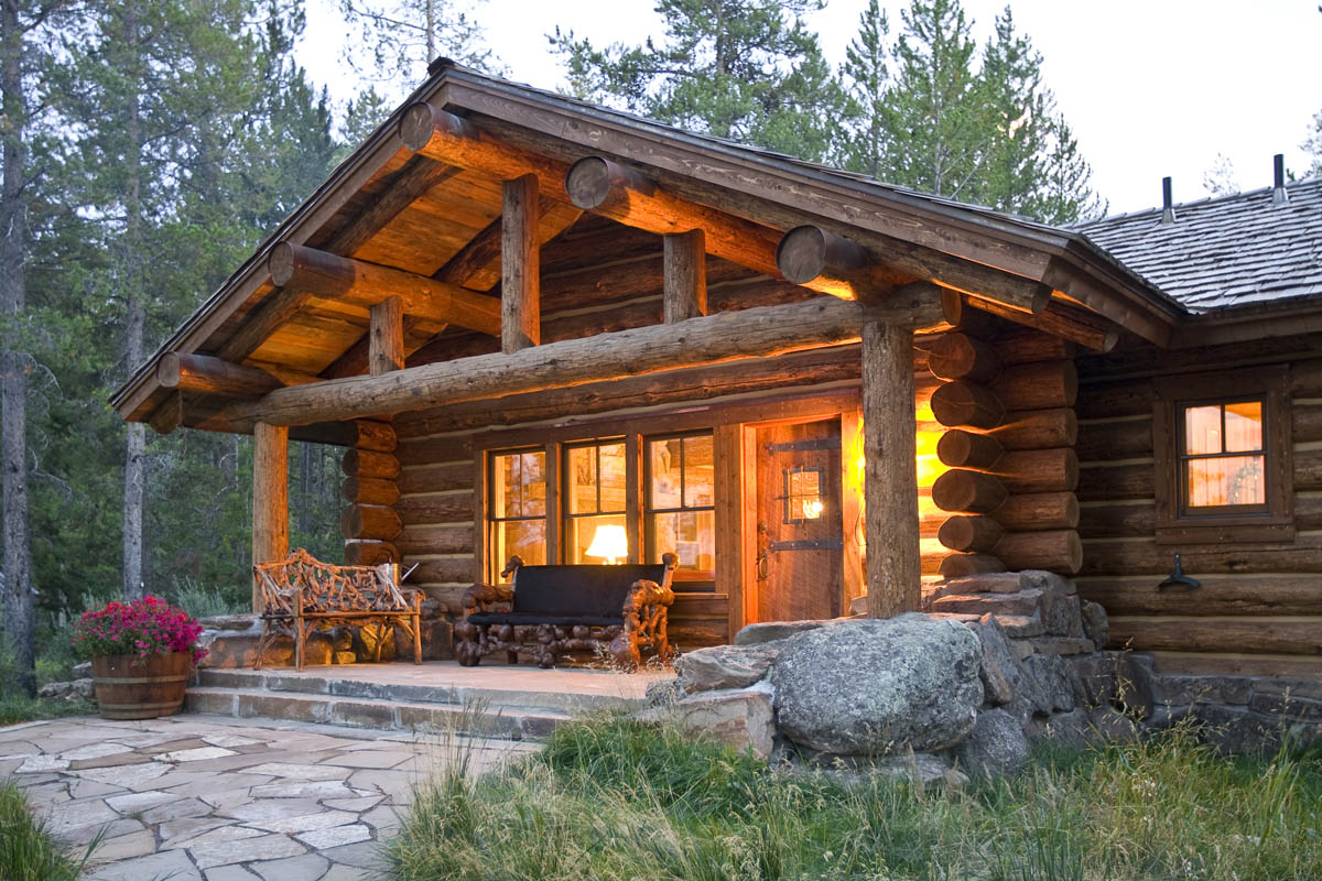 Log Cabin Home Plans | Lake Mountain Cabins | Zook Cabins