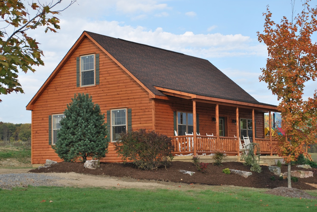 Lovely Manufactured Log Homes Vs. Our Amish Built Log Cabins Good Ideas