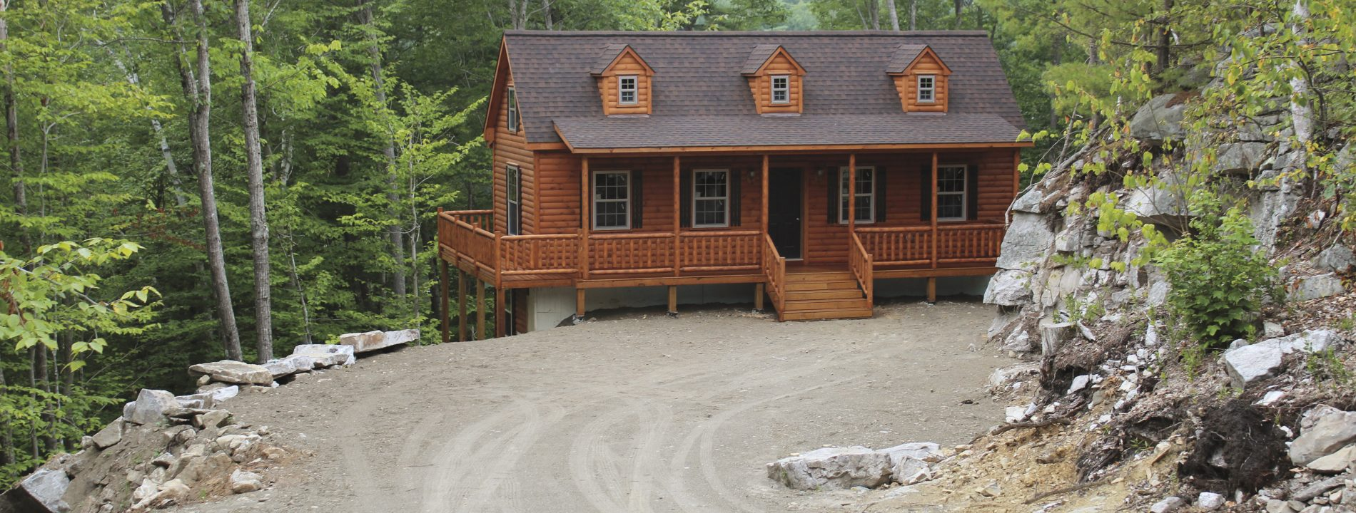 Cape cod cabin cape cod log homes zook cabins for Cape style homes for sale