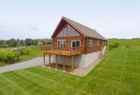 amish chalet cabin plans