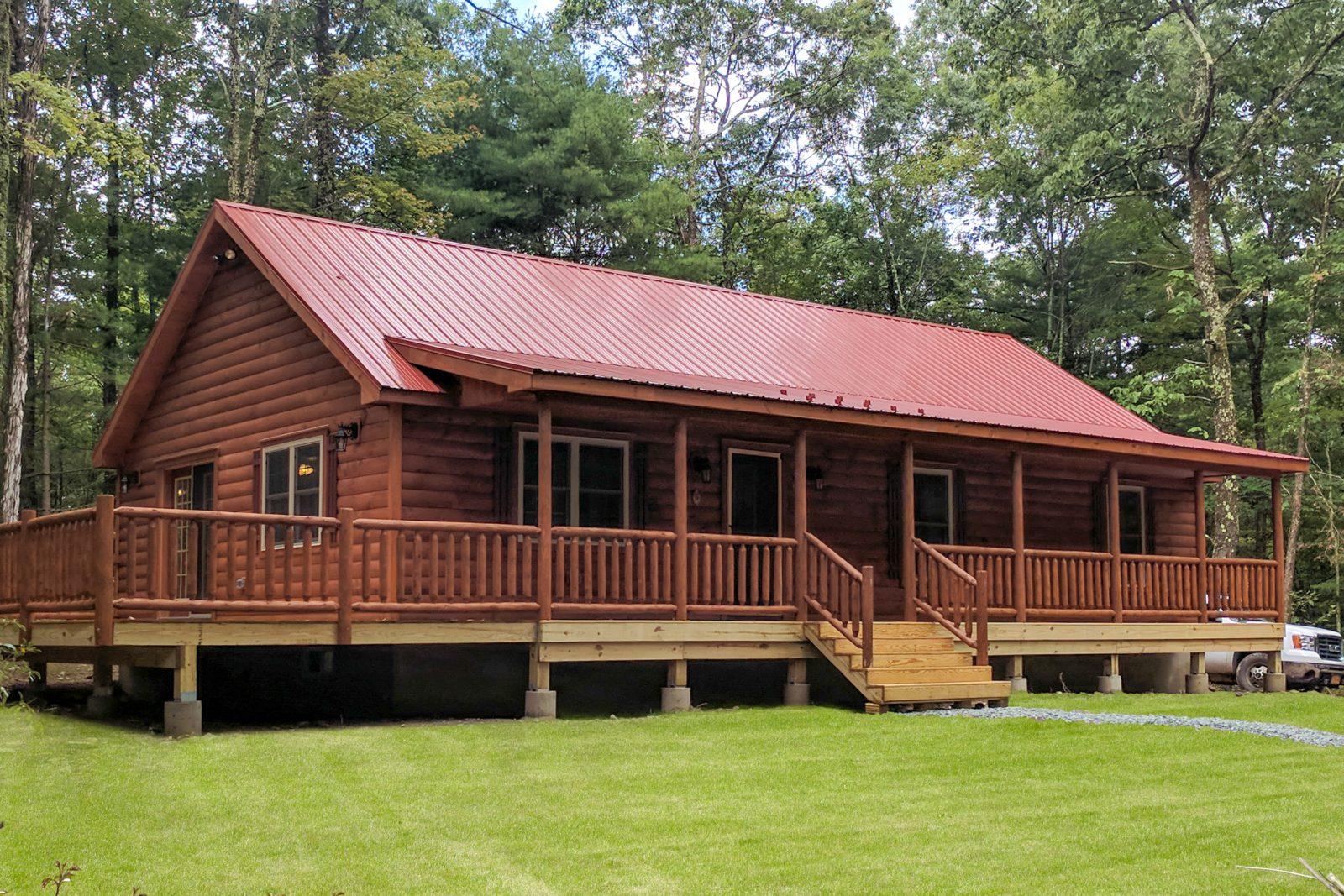 musketeer prefab log cabin 2