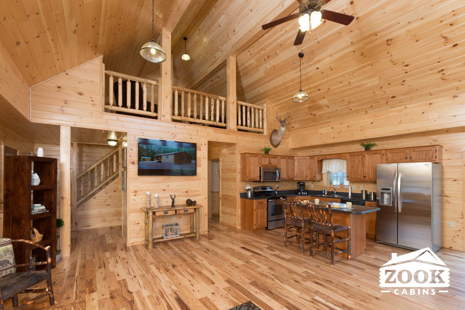 Cozy up in a log cabin worth buying