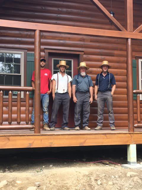 team of hardworking mennonite carpenter in berkshire massachusetts