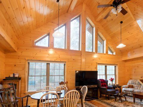 12 loft log cabins 1