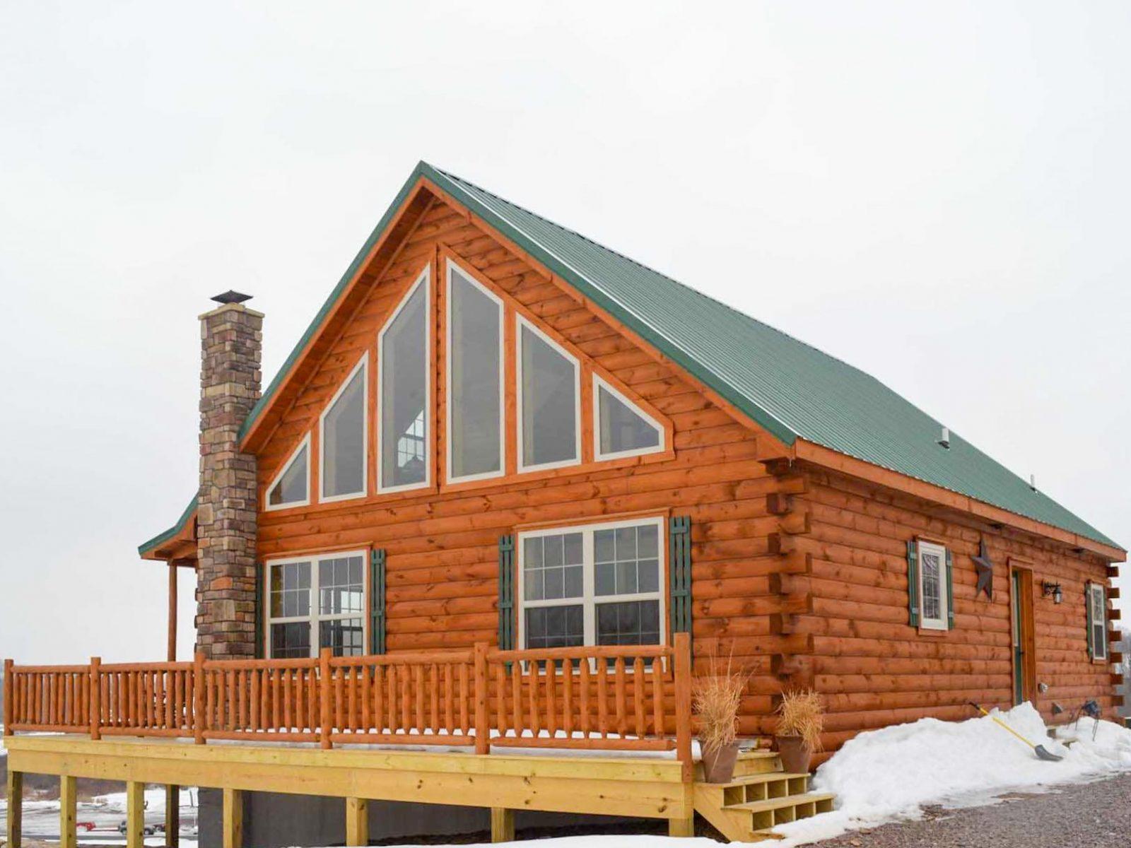 New York Log cabin