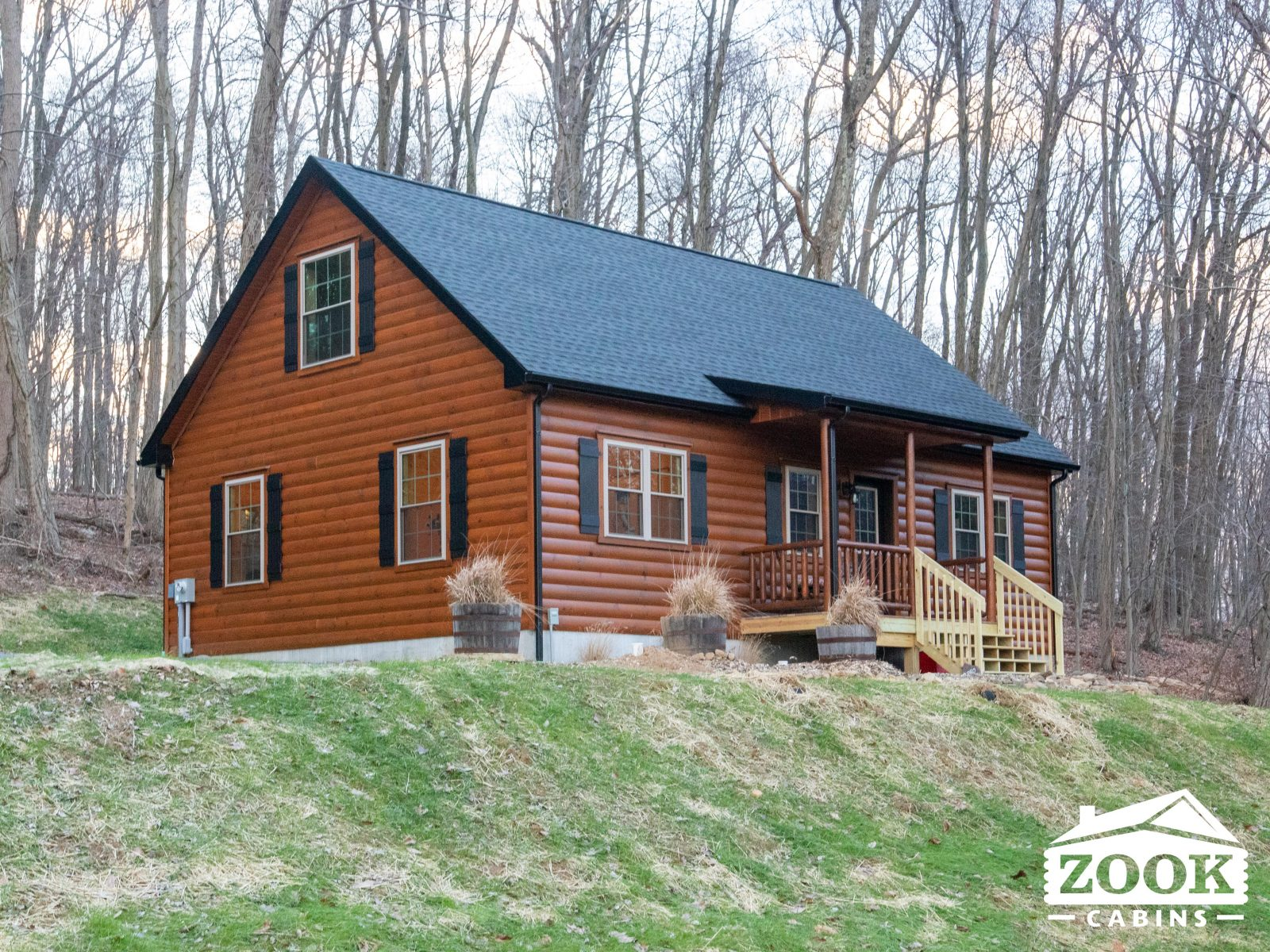 Mountaineer Log Cabin Featured Image