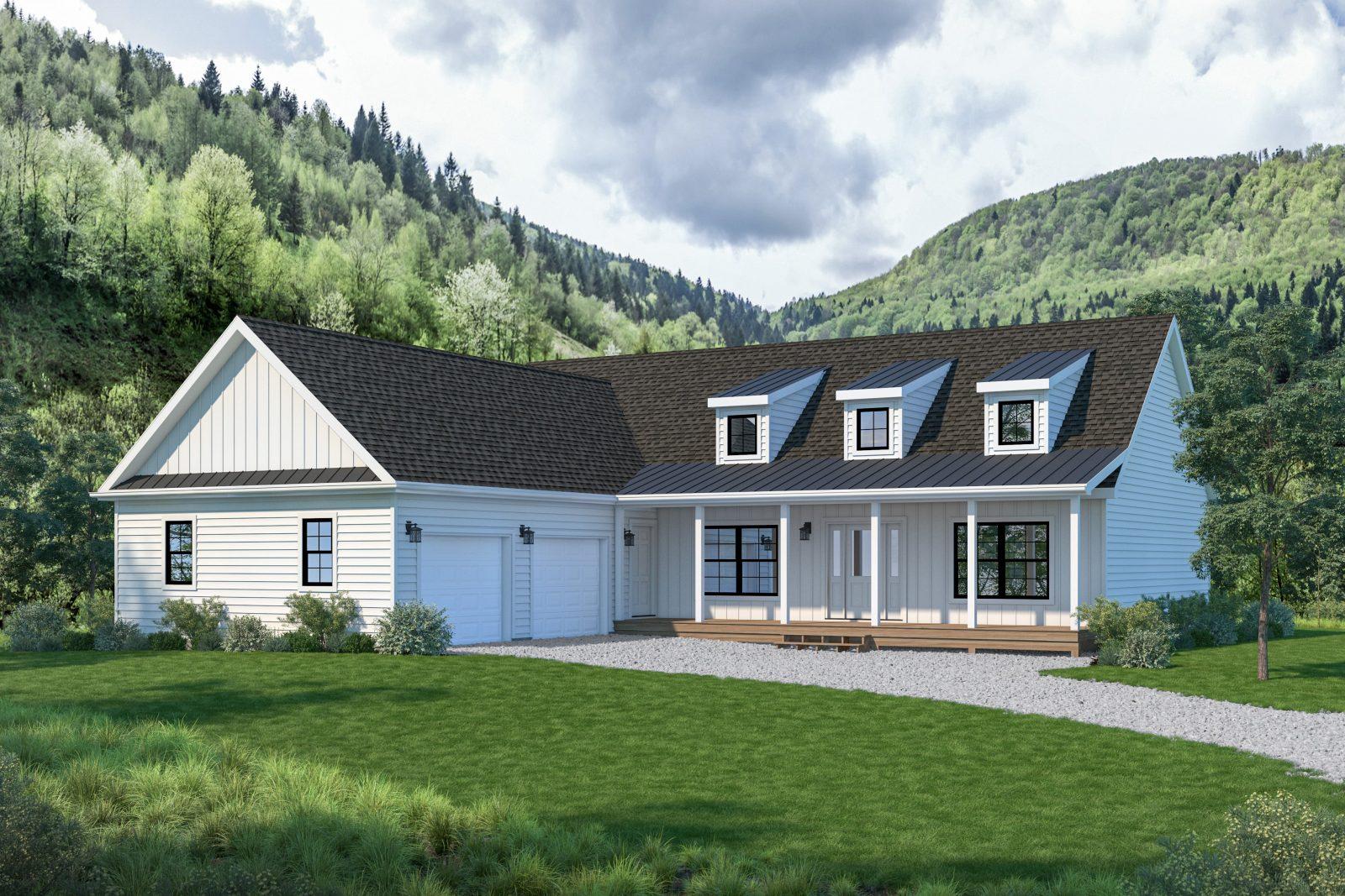 Homestead Farmhouse Style Modern Cabin