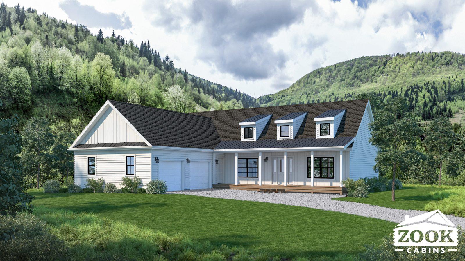 Farmhouse Style Modern Cabin