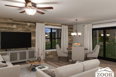 Modern Mountain Livingroom