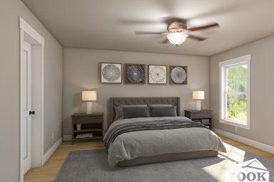 The Homestead Master Bedroom