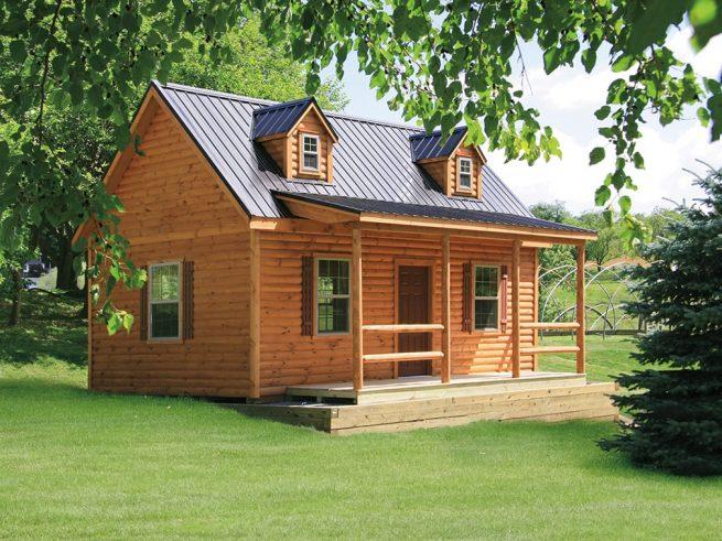 Plymouth Log Cabin