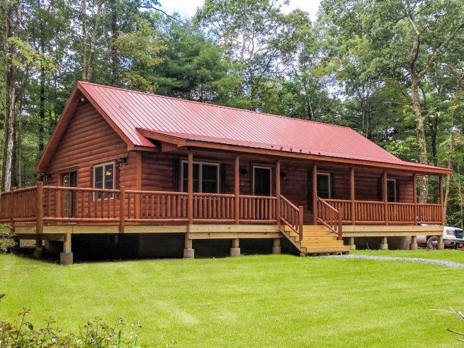 Musketeer Log Cabin