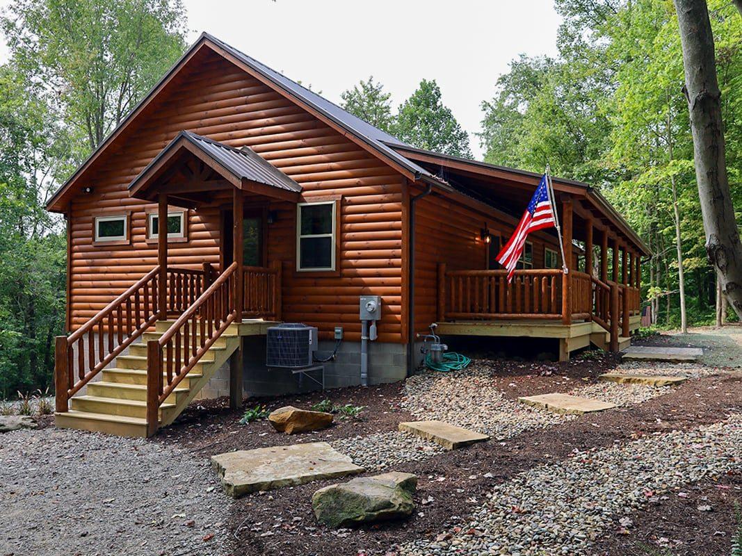 Log Cabins in Georgia featured image