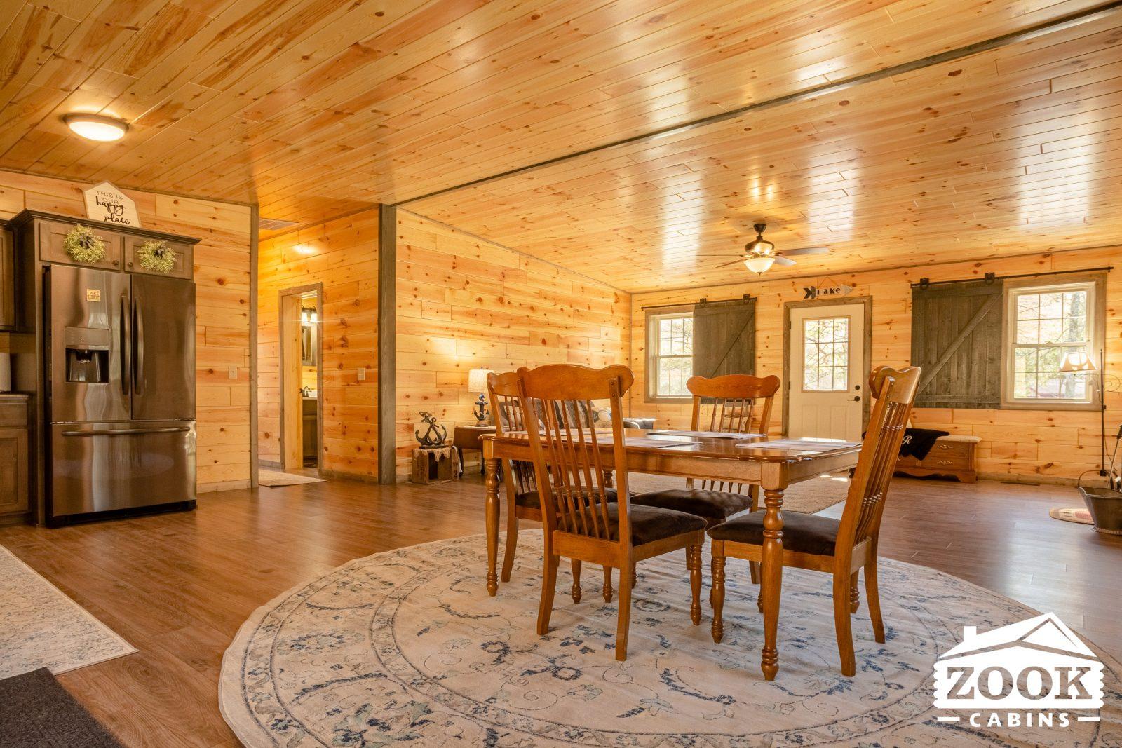 Cabin Interior in New Mexico