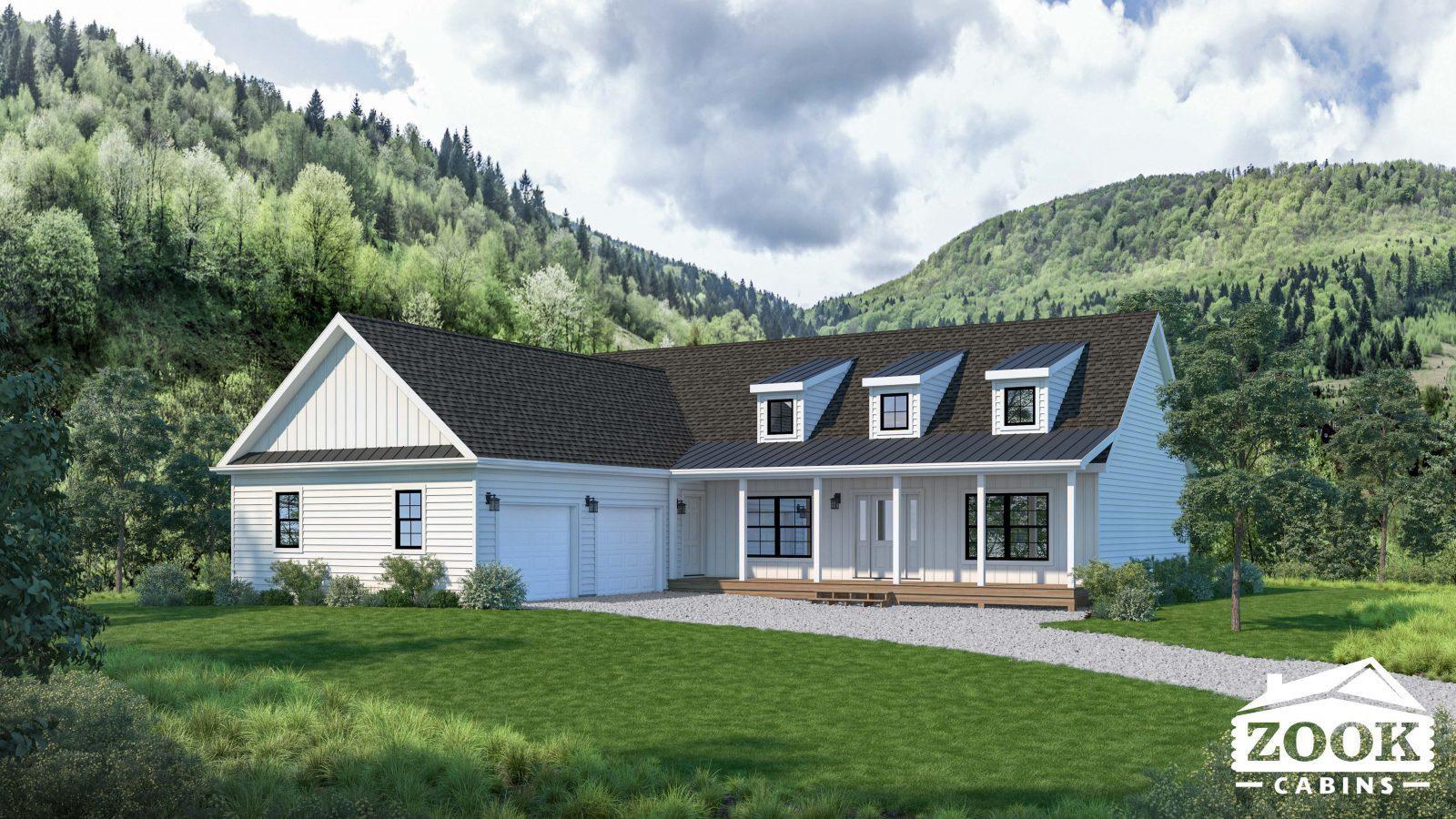 The Homestead Modern Farmhouse home in Virginia