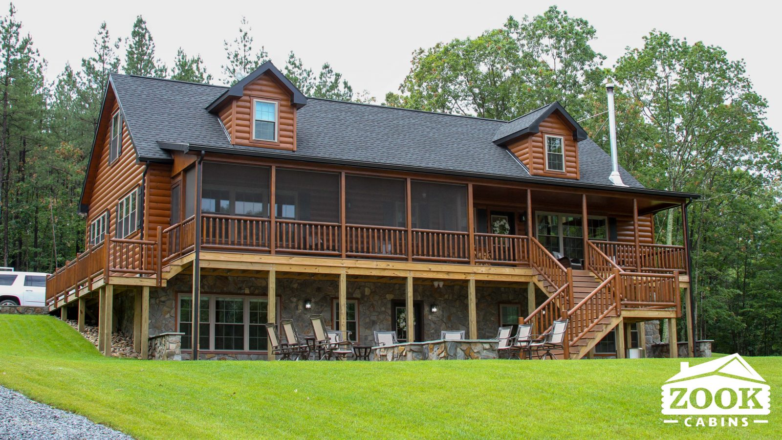 Modular log cabin in virginia that you will love