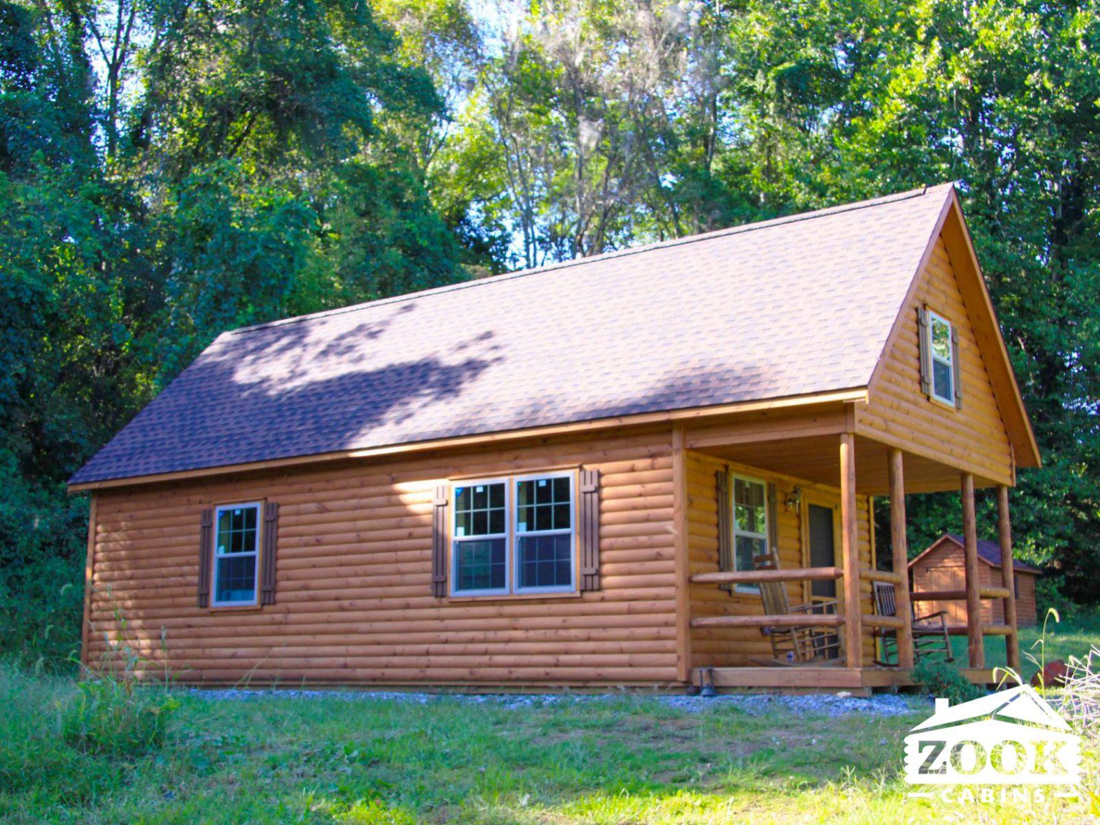 The Catskill modular log cabin in virginia