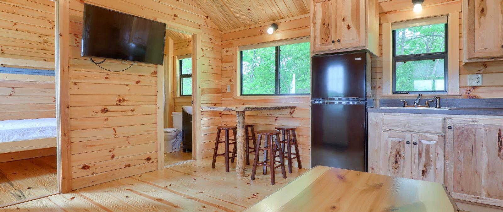 Rancher Park Model Home Interior