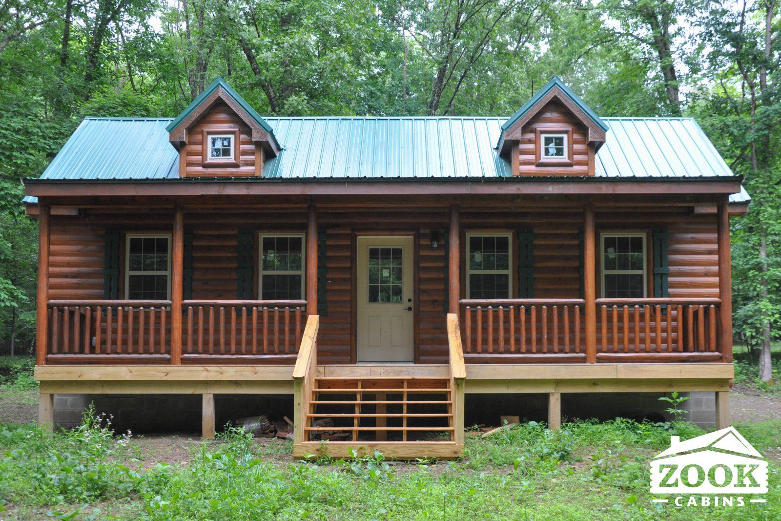 The Plymouth Prefab Log Cabin in North Carolina