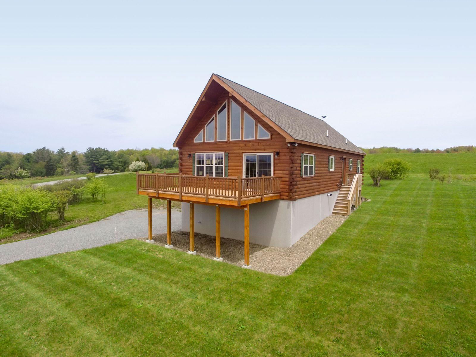 amish chalet cabin plans