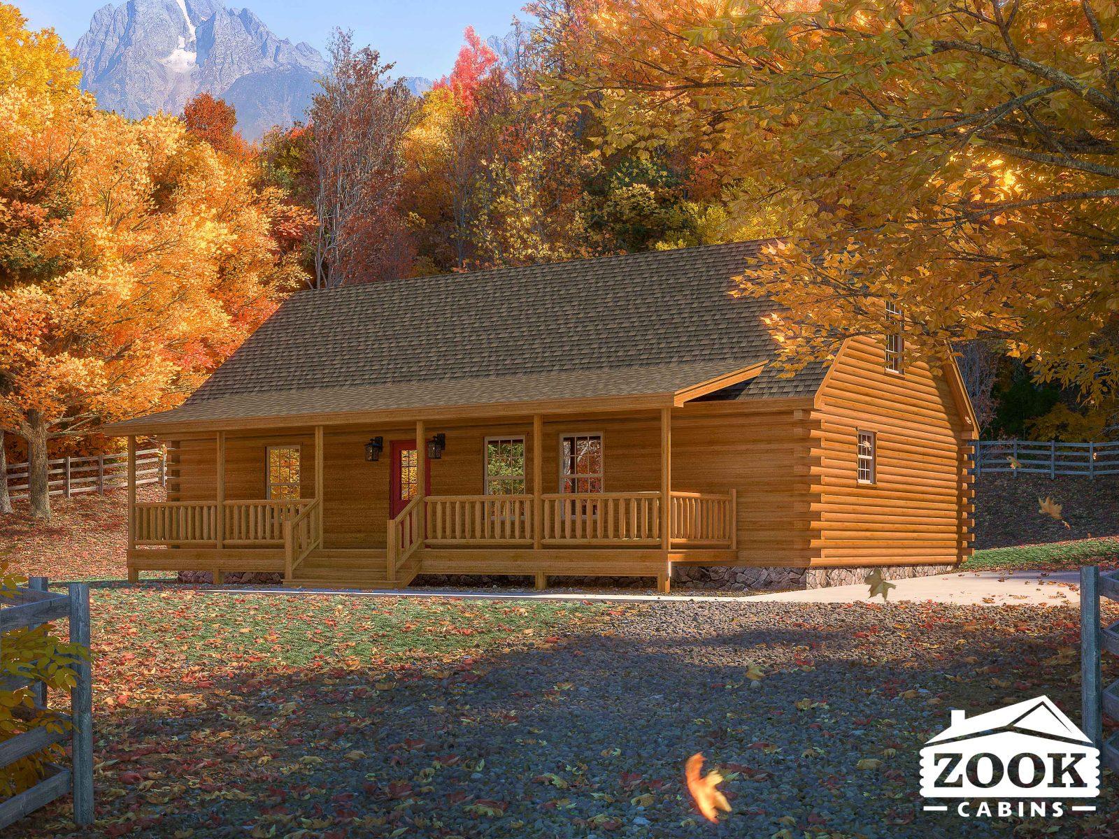 Timberline Modular Log Cabins in Wyoming