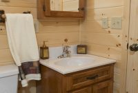 frontier style homes bathroom