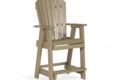 balcony chair outdoor poly cabin furniture