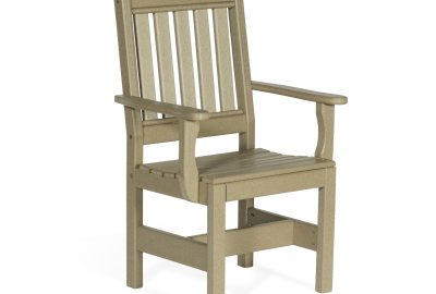 english garden chair with arms outdoor poly furniture