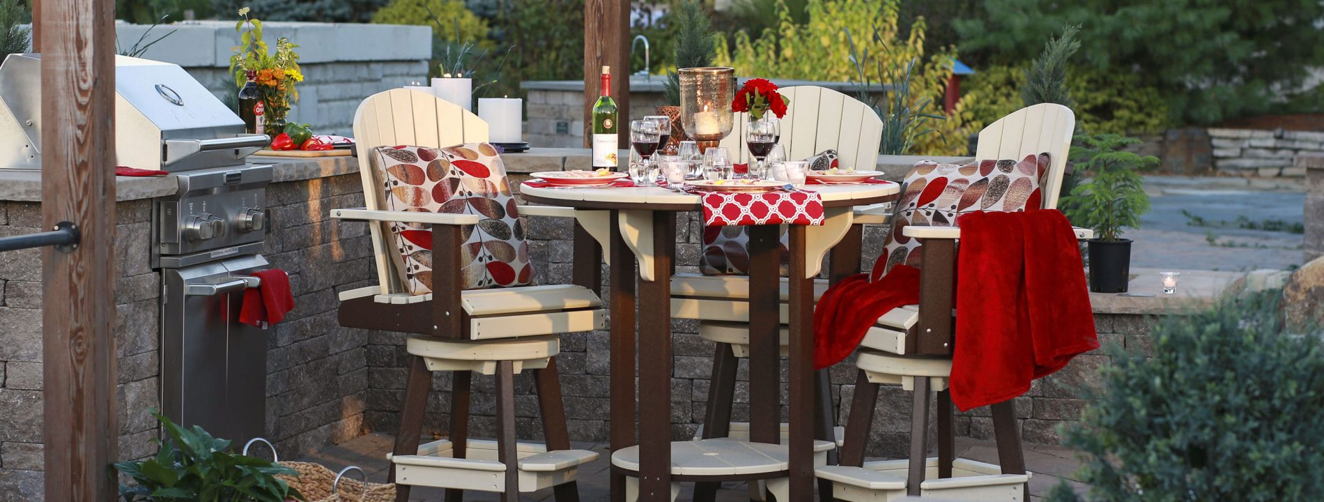 luxury outdoor dining furniture log home furniture