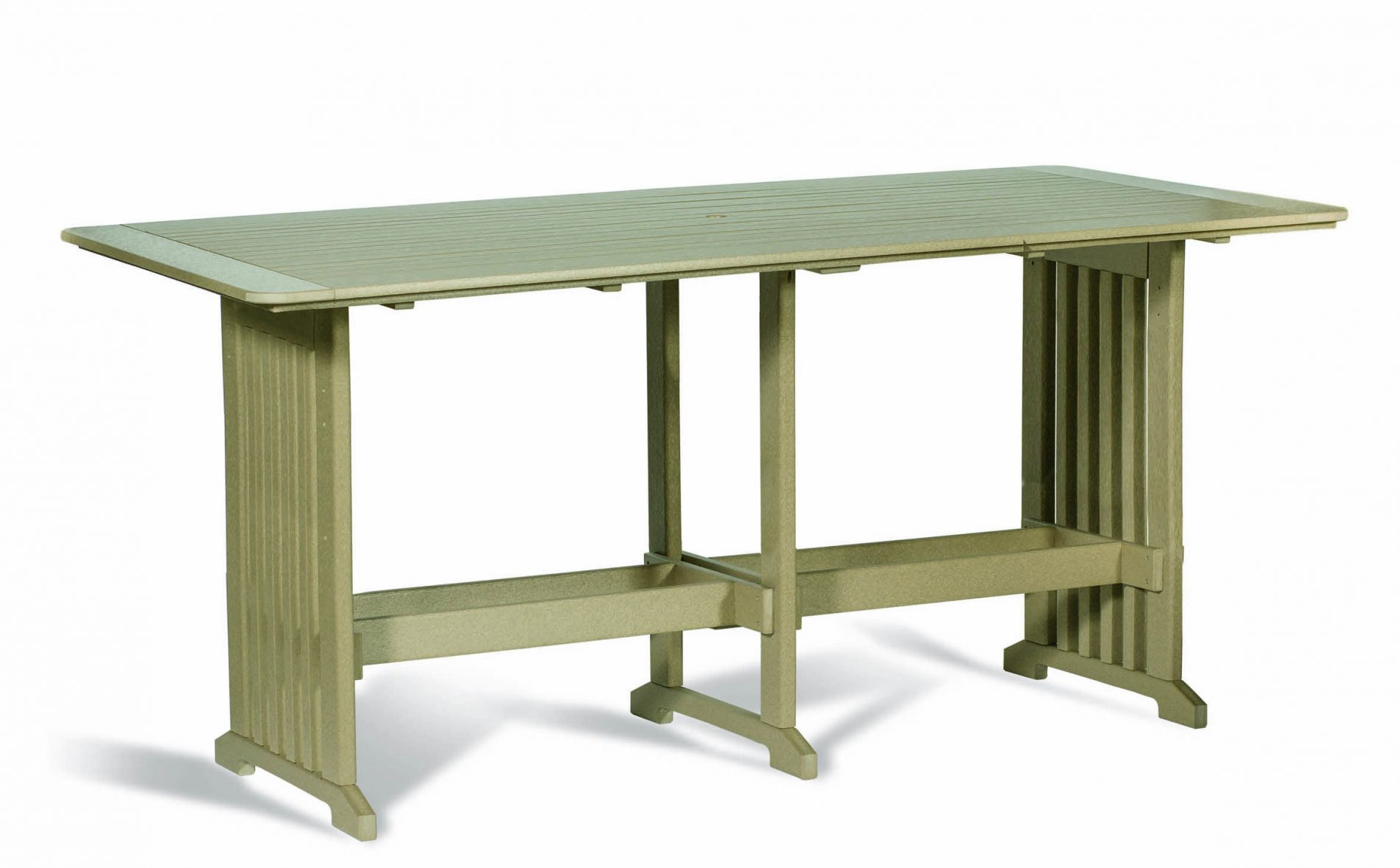 Pub Table 96 Inch Outdoor Poly Cabin Furniture
