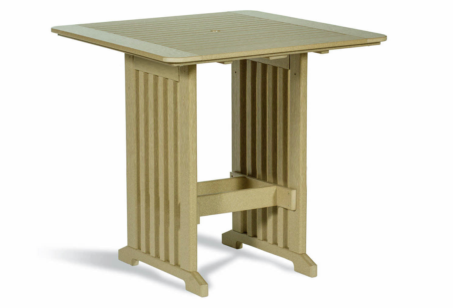 Square Pub Table Outdoor Poly Cabin Furniture