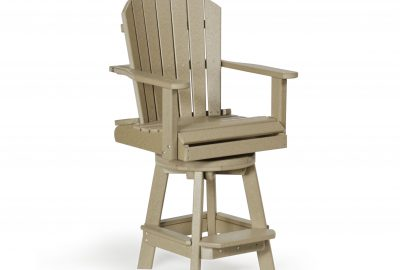 swivel balcony chair outdoor poly cabin furniture