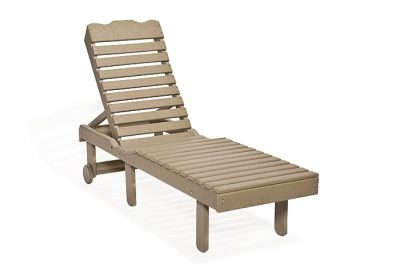 chaise lounge poly furniture for cabins