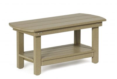 coffee table poly furniture for cabins
